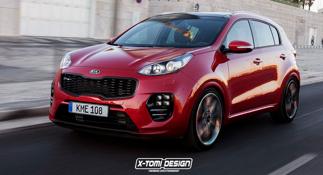 Kia Sportage GT Rendering Is the Crossover of Our ...