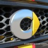 Yellow Smart Car Logo badge emblem
