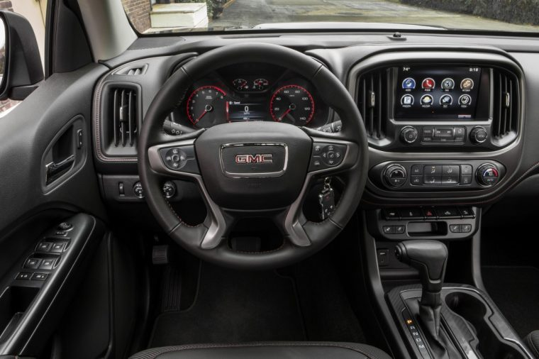 2016 GMC Canyon All Terrain with Android Auto interface