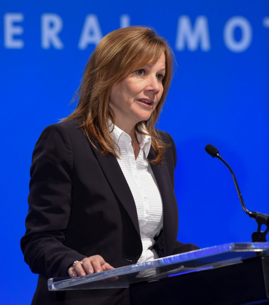 GM CEO Mary Barra Fortune 50 Most Powerful Women
