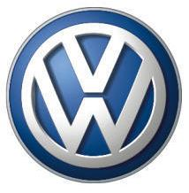 current VW logo