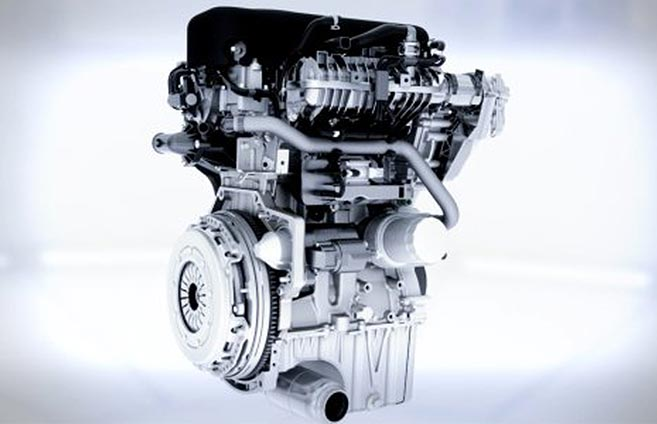 1.0-liter Ti-VCT engine