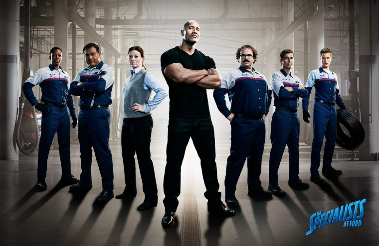 The Rock The Specialists at Ford