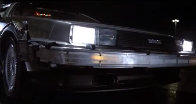 1985 Delorean DMC-12 Doc Brown front