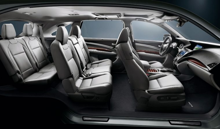 The 2016 Acura MDX comes in five different trim levels