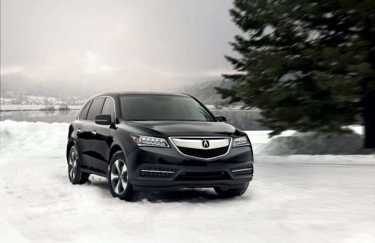 The 2016 Acura MDX comes with 18-inch alloy wheels