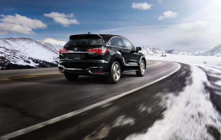 The 2016 Acura RDX features rear privacy glass