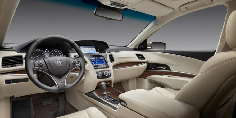 The 2016 Acura RLX comes with heated front seats