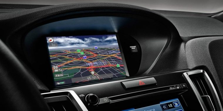 The 2016 Acura TLX is available with a Color Multi-Information Display (MID) with turn-by-turn guidance