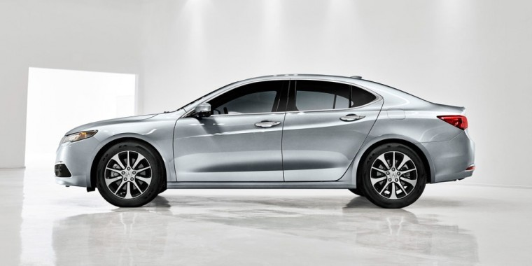 The 2016 Acura TLX comes standard with a 2.4-liter Direct Injection four-cylinder engine