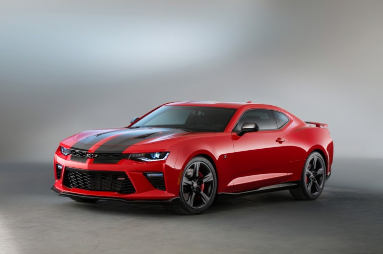 2016 Chevy Camaro SS Black Accent concept