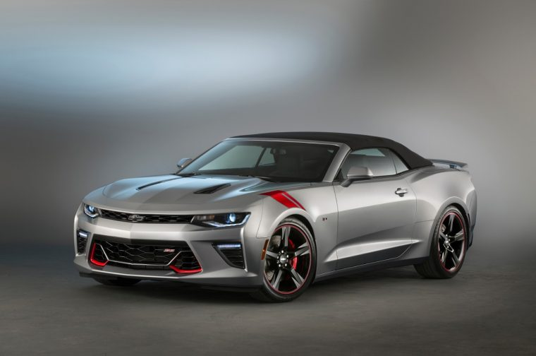 2016 Chevy Camaro SS Red Accent concept