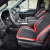 The 2016 Ford F-150 features leather front seats
