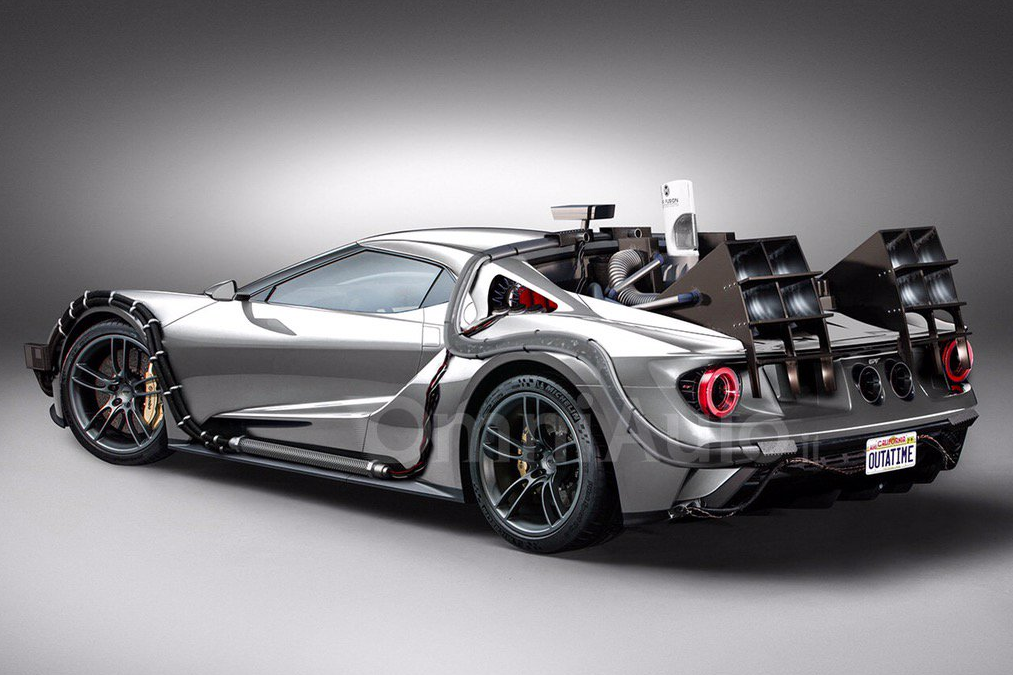 Omniauto Customizes Ford Gt Into A Machine That Will Blow Your Mind The News Wheel