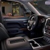 The 2016 GMC Sierra 1500 comes standard with cloth seats