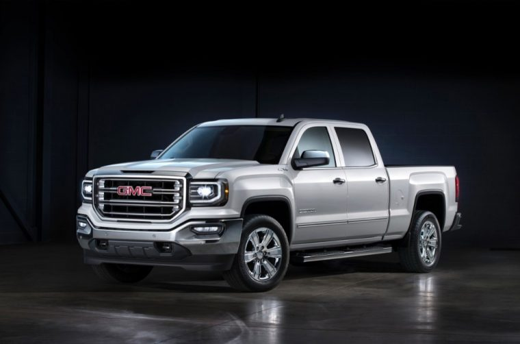 The 2016 GMC Sierra features a 5.3-liter V8 EcoTec3 engine