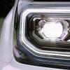 The 2016 GMC Sierra 1500 features LED headlights