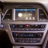 A 7-inch color touchscreen audio is featured with in the 2016 Hyundai Sonata