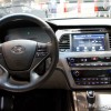 The 2016 Hyundai Sonata Hybrid comes with a tilt-and-telescopic steering wheel with mounted audio