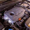 A 2.0-liter inline four-cylinder Twin-scroll Turbo engine good for 245 horsepower and 260 lb-ft of torque comes standard on the 2016 Hyundai Sonata