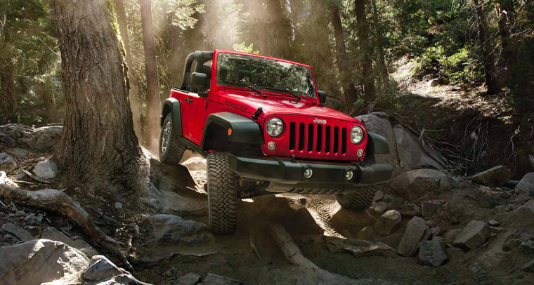 2016 Jeep Wrangler Front End