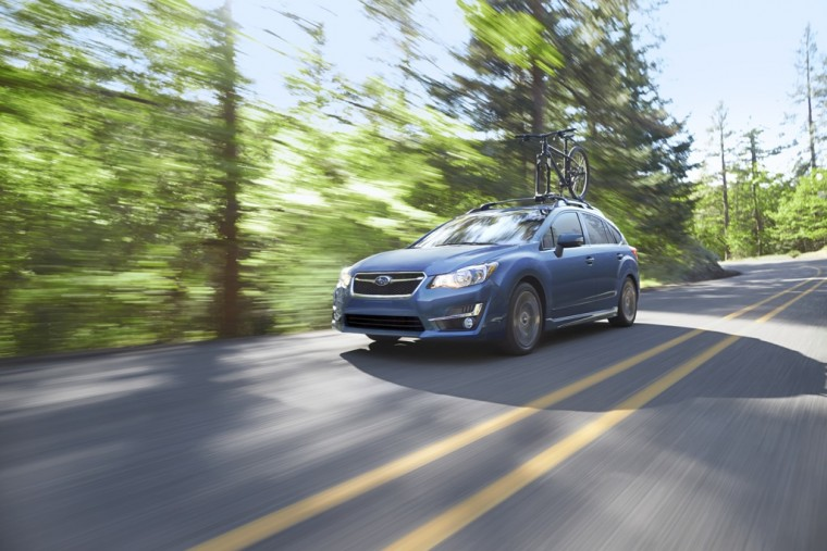 2016 Subaru Impreza Efficiency