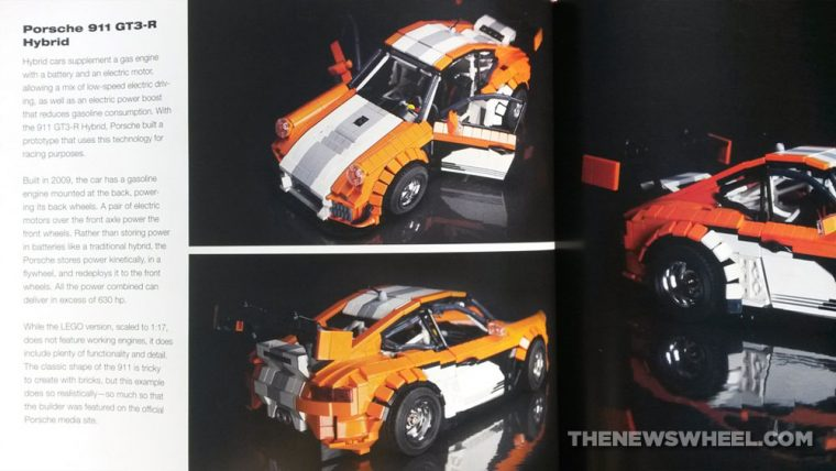 Art of Lego Scale Modeling book review building blocks Porsche racer replica