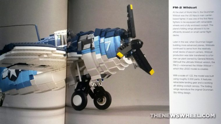 Art of Lego Scale Modeling book review building blocks plane replica