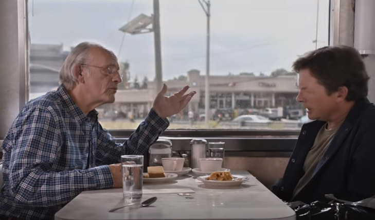 back to the future day toyota mirai commercial