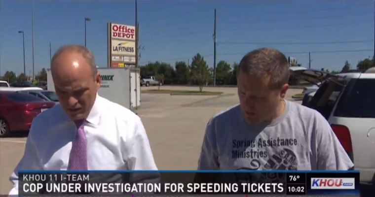 David Clark Mailed Speeding Tickets