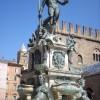 Neptune statue fountain in Bologna Italy