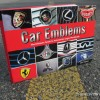 Giles Chapman Car Emblems Book about Logos Review cover