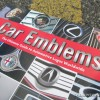 Giles Chapman Car Emblems Book about Logos Review cover zoomed