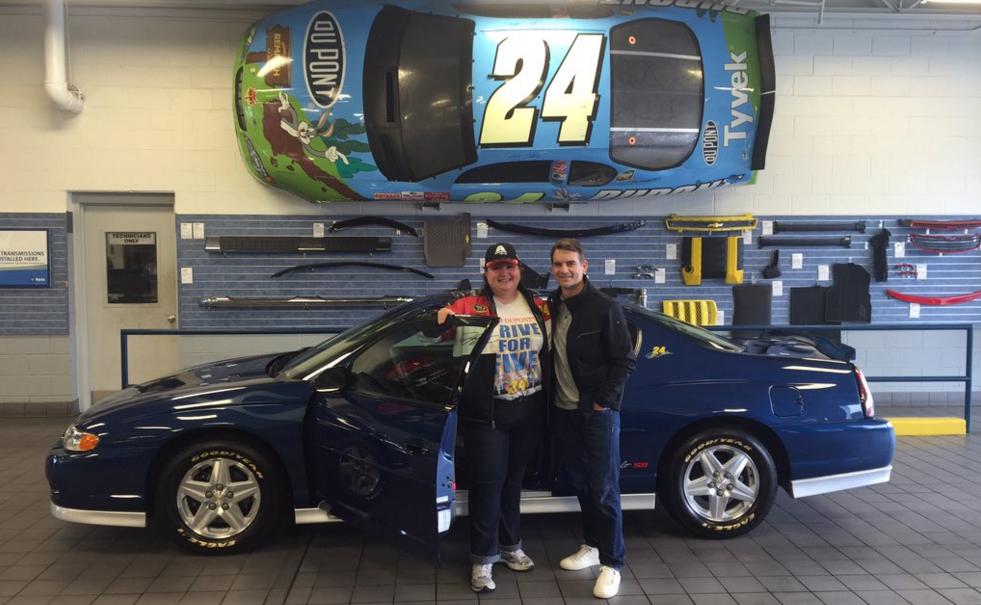 Jeff Gordon Gifts Fan His 2003 Chevy Monte Carlo Ss Video