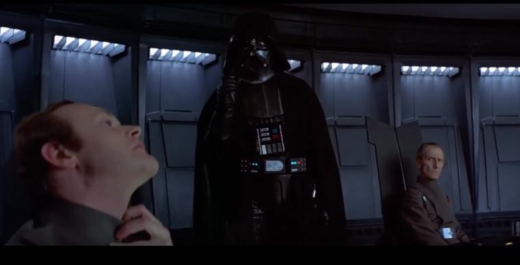 Darth Vader Lack of faith