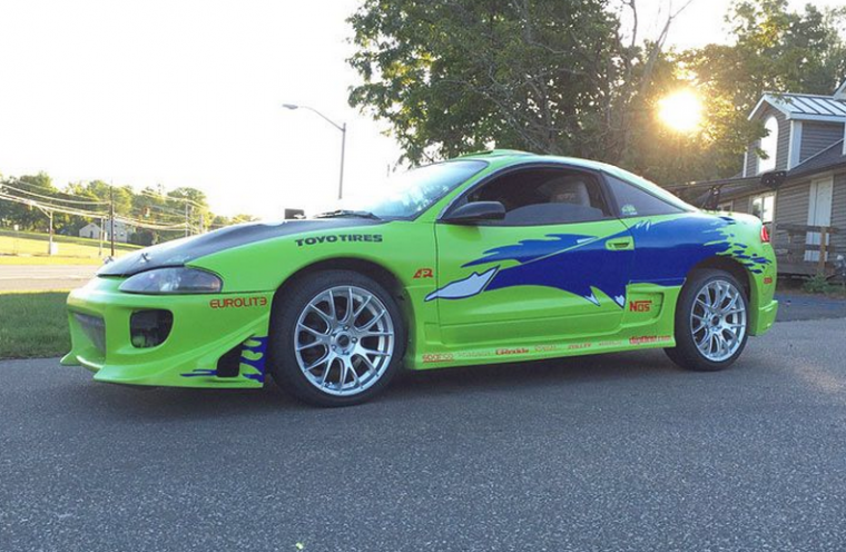 Mitsubishi Eclipse Paul Walker Tribute