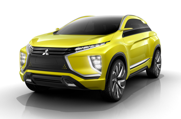 Mitsubishi Ex Concept Front End