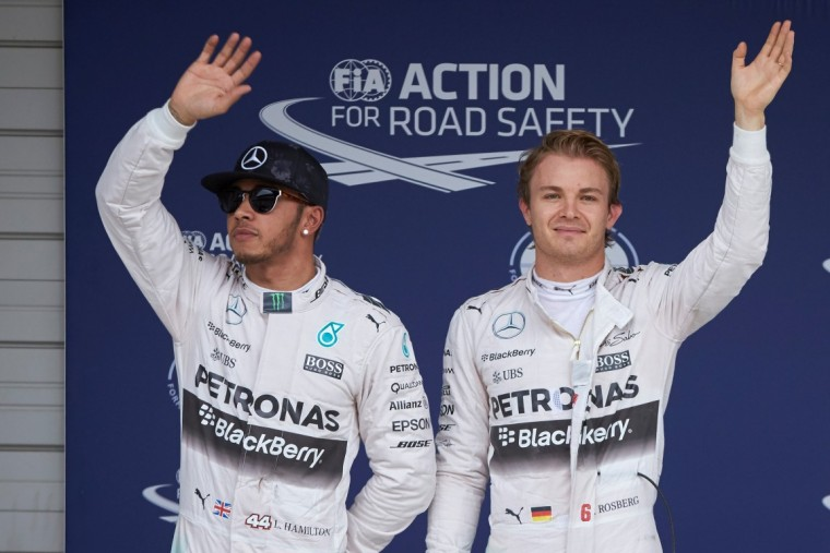 Rosberg and Hamilton - Formula One vs. IndyCar Racing