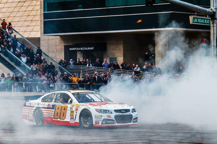 Chevy driver Dale Earnhardt Jr. won Sunday's NASCAR race at Phoenix