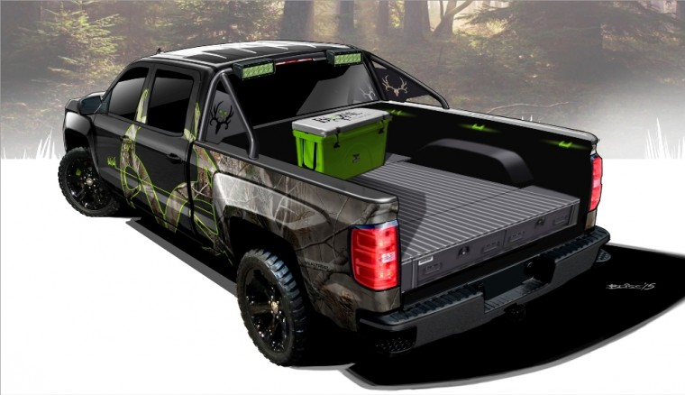 Chevrolet Silverado Realtree® Bone Collector truck concept