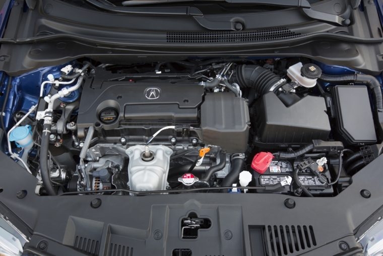 The 2016 Acura ILX comes standard with a 2.4-liter DOHC i-VTEC four-cylinder engine good for 201 horsepower and 181 lb-ft of torque