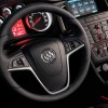 The 2016 Buick Cascada comes with a leather-wrapped 3-spoke steering wheel
