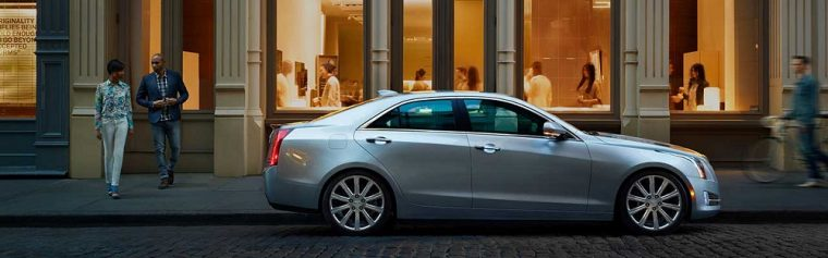 The 2016 Cadillac ATS Sedan is available with a 335 hp 3.6-liter V6 engine