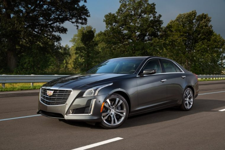 The 2016 Cadillac CTS comes standard with 17-inch all-season run-flat tires