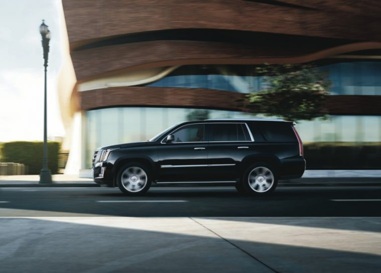 The 2016 Cadillac Escalade comes standard with 20-inch all-season blackwall tires