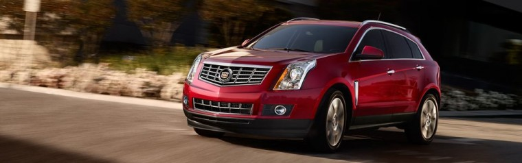 The 2016 Cadillac SRX is available in four trims