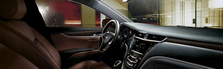 A Bose® premium 8-speaker system comes standard inside the 2016 Cadillac XTS
