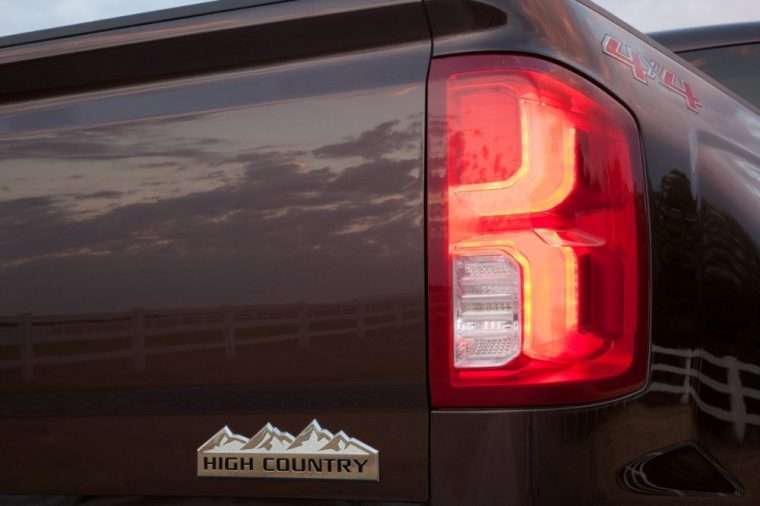 The starting MSRP for the 2016 Chevy Silverado 1500 ranges from $39,450 to $53,535