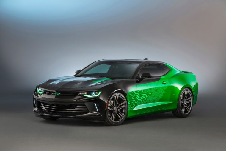 2016 Chevy Camaro Krypton concept at 2015 SEMA Show