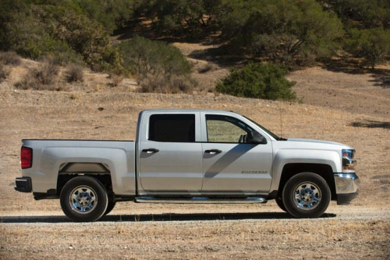 There are a number of exterior color options available for the 2016 Chevy Silverado 1599